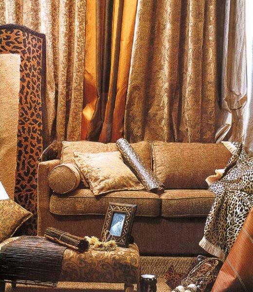 Závěsy - dekorace k nábytku