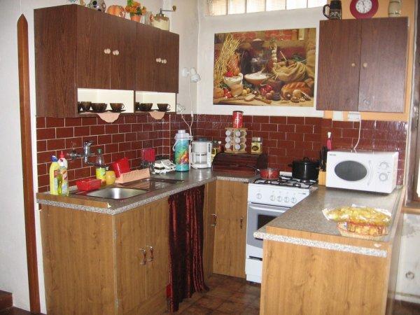 naše kuchyň na chatě