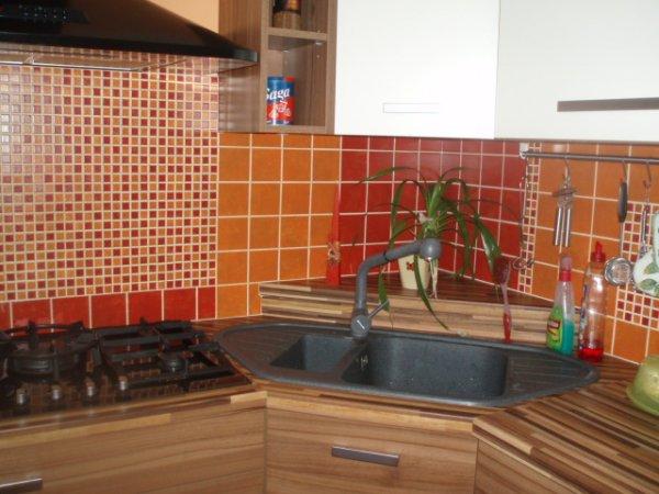 rohový dřez v mé kuchyňce