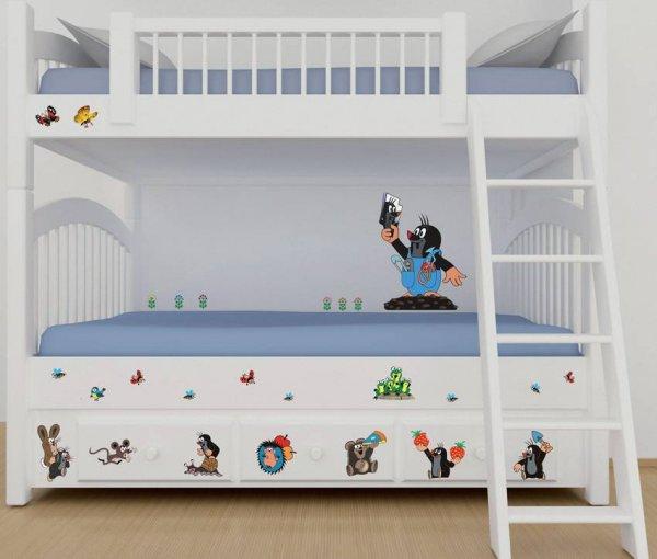 Inspirace dekorace - dětské pokoje