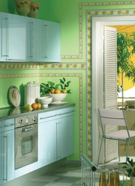 Kuchyně stěna