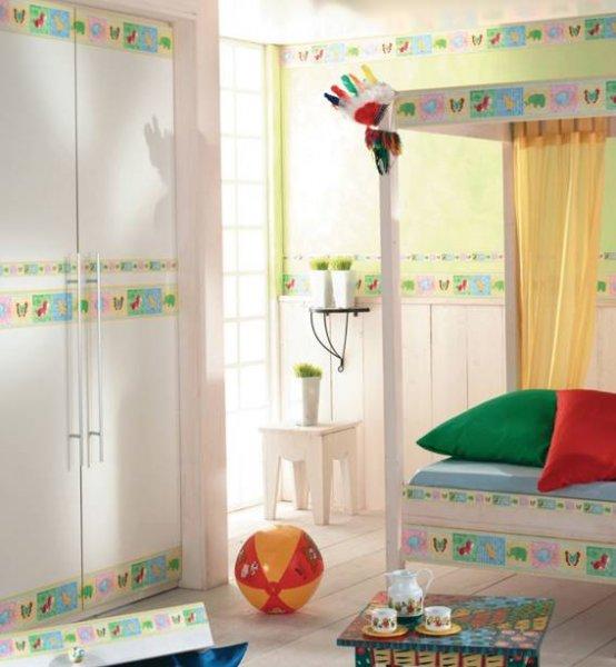 Dětské pokoje stěna