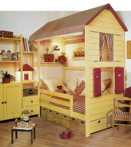 detsky domecek - dětské pokoje