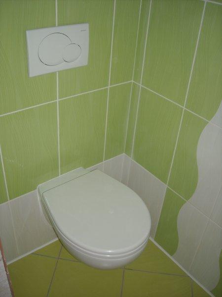 Koupelny - nové wc