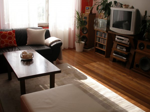 obýváček po menší změně