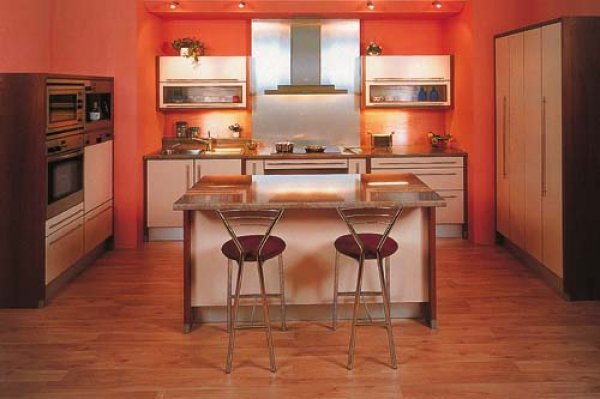 kuchyně červená
