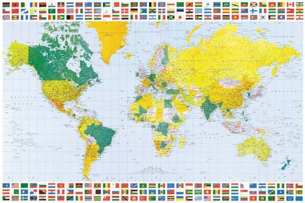 Map of World