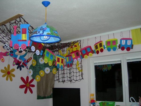 stropní dekorace