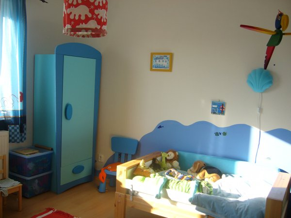 Pokojík mého 4letého syna