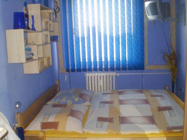 ložnice v modrém