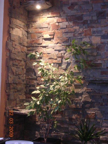 kamen v obýváku - obklady
