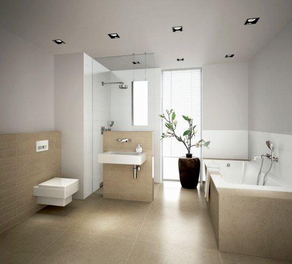 Koupelna Geberit - sprchový odtok Geberit
