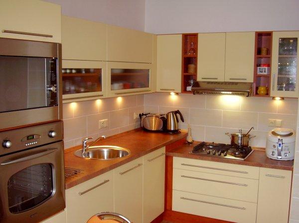Nová kuchyň v paneláku