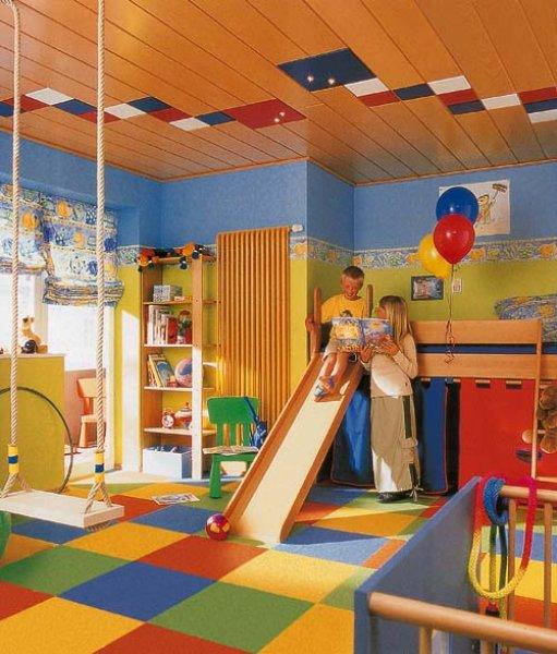 Skluzavka dětský pokoj