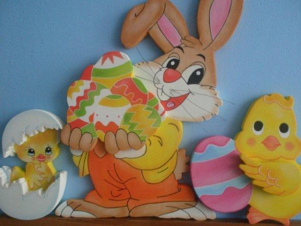 Velikonoční dekorace.
