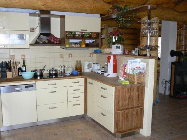 Kuchyně ve srubu 1
