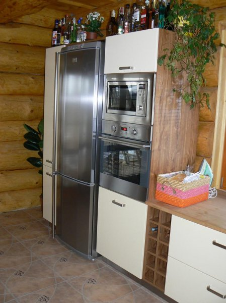 Kuchyně ve srubu 3