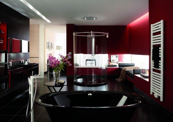 Koupelna Kaldewei - kouzlo černé