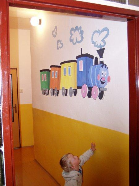malované dekorace