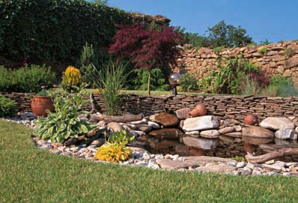Zahrada - inspirace - skalka