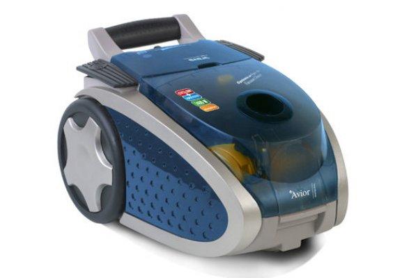 modrý vysavač - elektronika