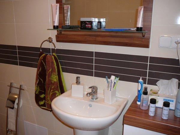 Naše nová koupelna