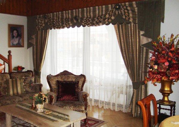 interiér v dobovém stylu