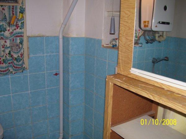 moje koupelna před rekons