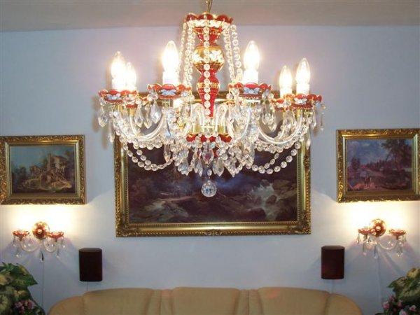 osvětlení v obýváku