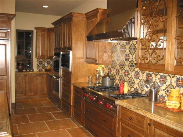 Kuchyně u dcery v Californii