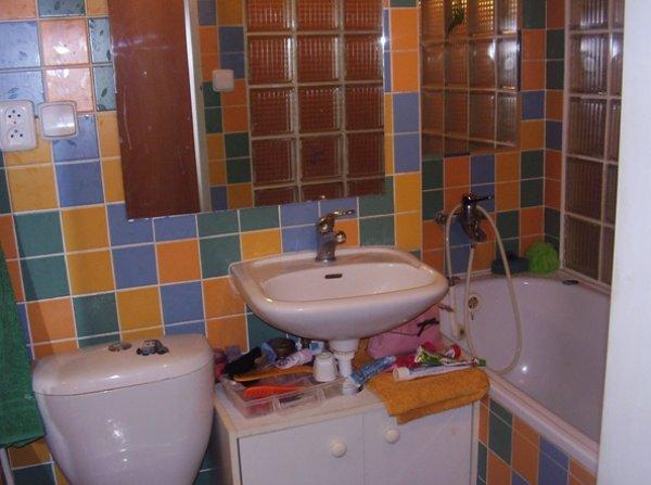 Barevná koupelna