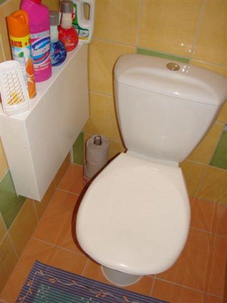 Záchod po rekonstrukci