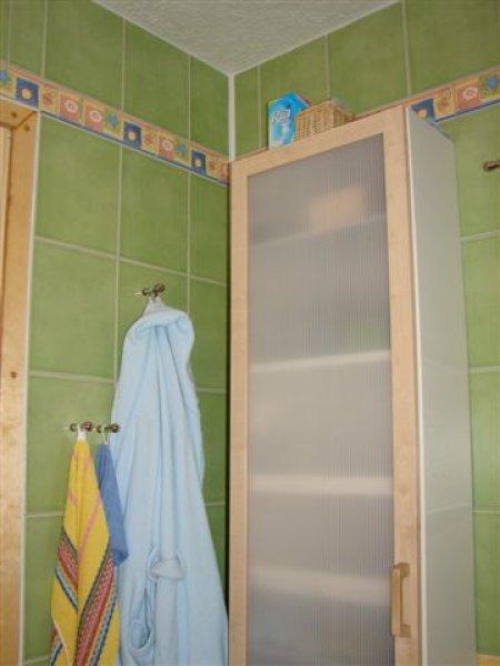 Skříňka v koupelně