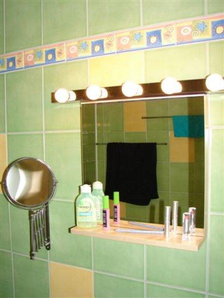 Světla nad zrcadlem - osvětlení