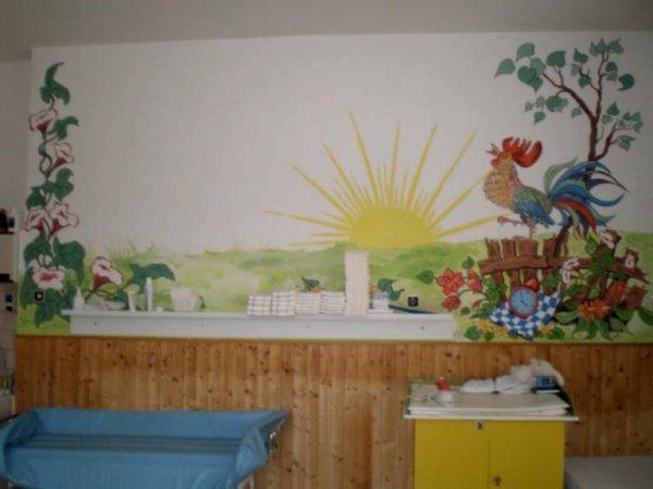 Malba dětského pokoje