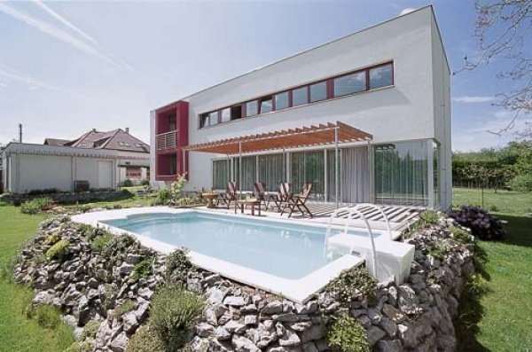 Bazén v moderním designu