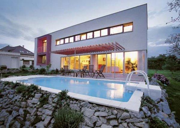 Bazén v moderním designu2