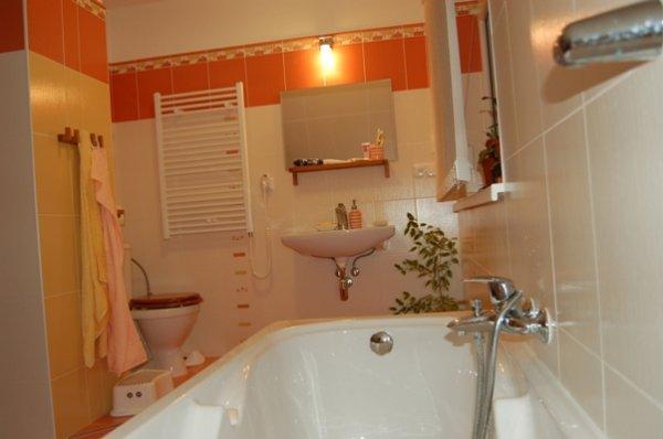 koupelka - v patře