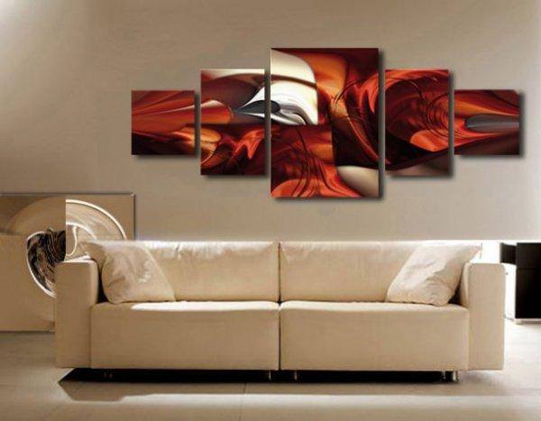 digital art na plátne - dekorace