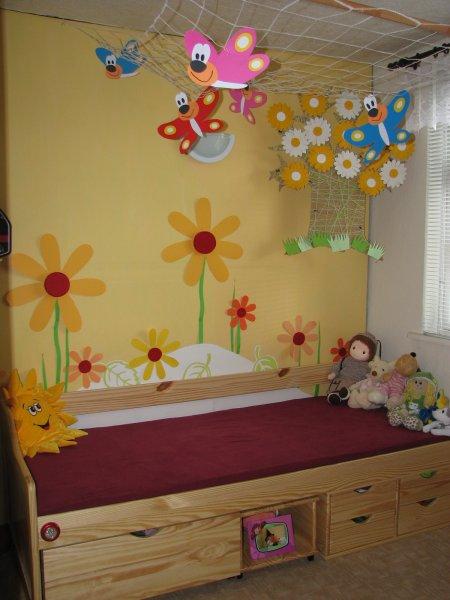 Nikolky pokojík - dětské pokoje