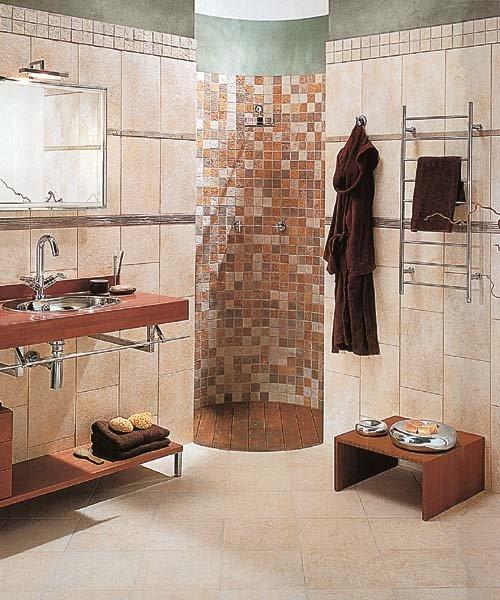 Koupelny - stylová sprcha