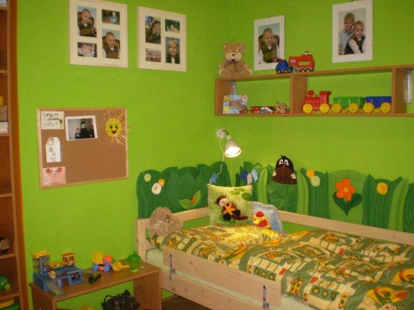 pokojíček pro 2 rošťáky - dětské pokoje