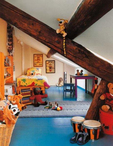 Pokojík dětský - inspirace dětské pokoje