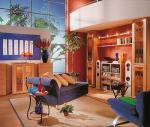 vyzdobený obývák