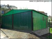 Plechová garáž Eurostal