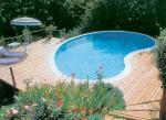 Bazén ve dřevě