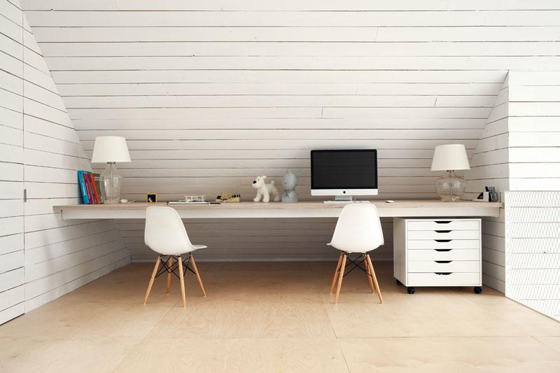 domácí kancelář pro dva