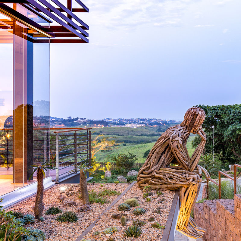 luxusní dům v jižní africe