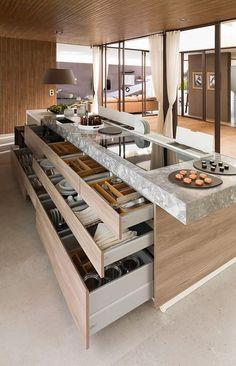 úložný prostor v kuchyni