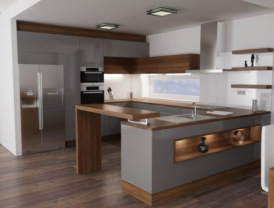 barevná kombinace pro kuchyně